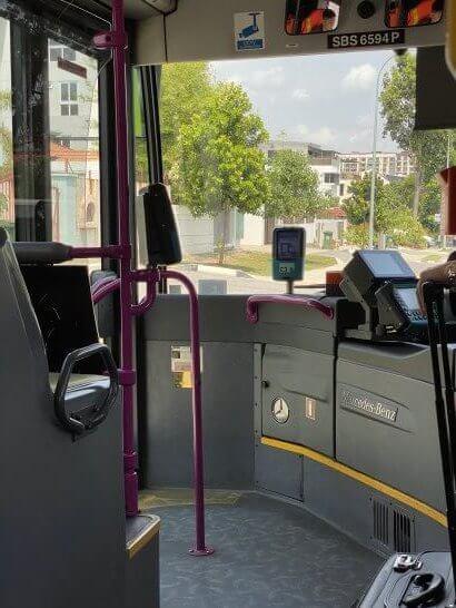 Mastercardコンタクトレスを使えるシンガポールのバス