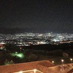 ふるさと納税で宿泊したフルーツパーク富士屋ホテルの夜景