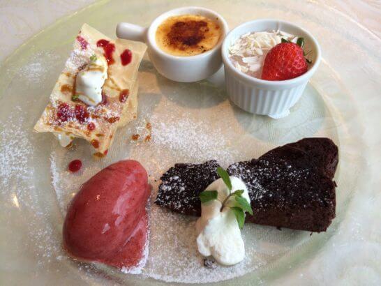 キハチのコース料理 (デザート)