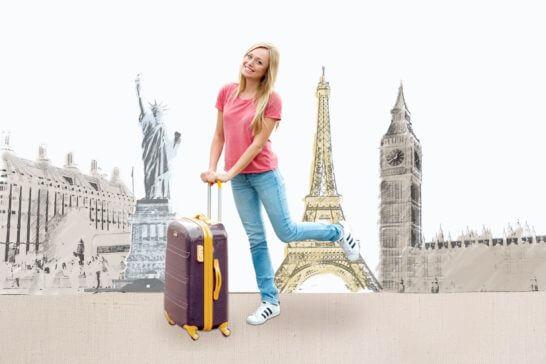 旅行・スーツケースのイメージ