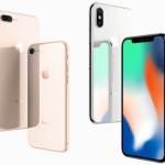 iPhone 8、iPhone 8 Plus、 X(テン)