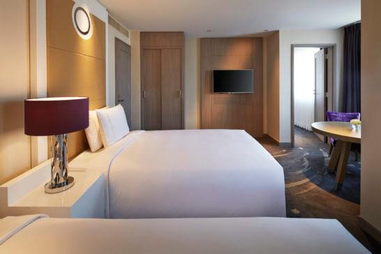 東京マリオットホテルのファミリールーム