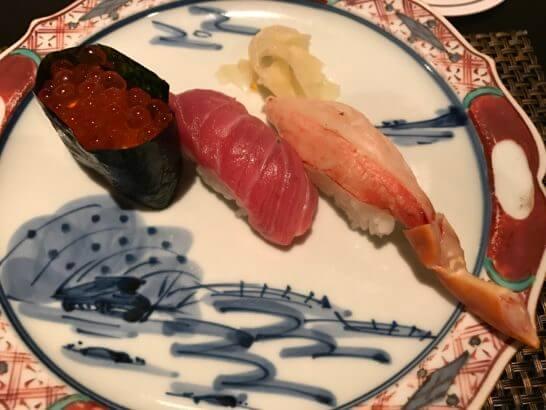 椿山荘の日本料理 みゆきの鮨