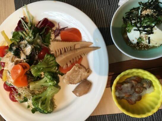 吉祥寺第一ホテルの朝食 (野菜)