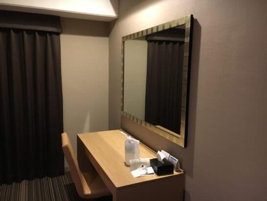 グランドプリンスホテル新高輪のデスク