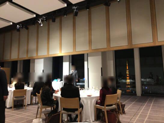 田崎真也に学ぶ、スマートなワインの選び方の会場の雰囲気