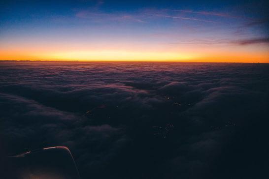 美しい海外の夕日