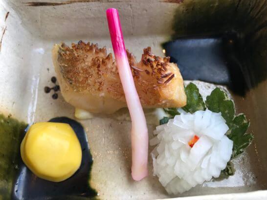 椿山荘の日本料理 みゆきの魚料理