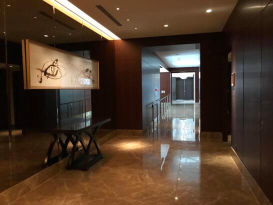 シャングリ・ラホテル東京のなだ万のフロア