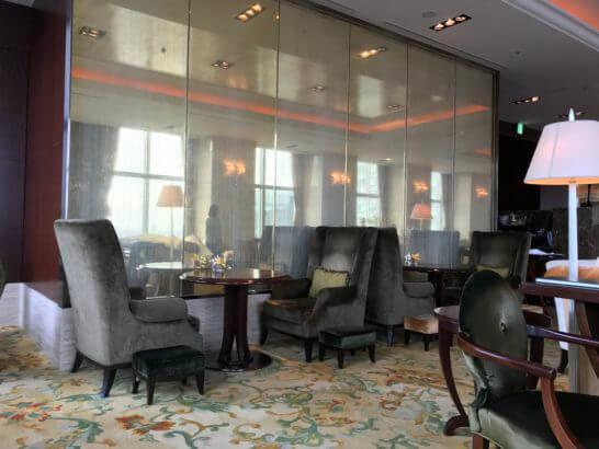 シャングリ・ラ ホテル東京のザ・ロビーラウンジの雰囲気