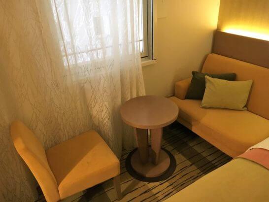 吉祥寺第一ホテルのソファー