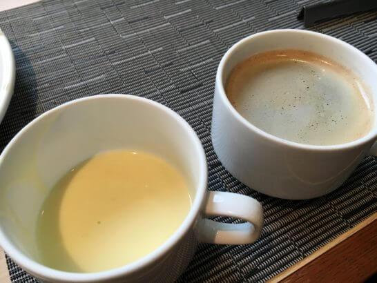 吉祥寺第一ホテルの朝食 (スープとコーヒー)