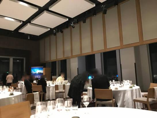 アメックス・ビジネス・ゴールドのイベント終了後の雰囲気