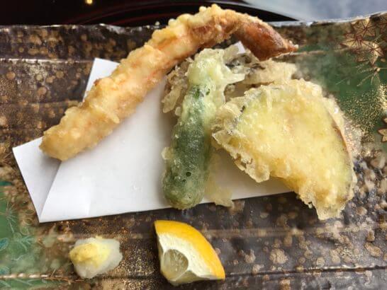 椿山荘の日本料理 みゆきの天ぷら