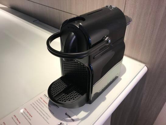 東京マリオットホテルのコーヒーマシン