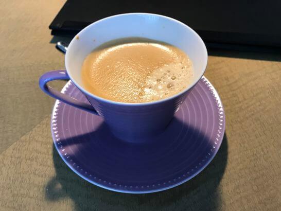 東京マリオットホテルのコーヒー