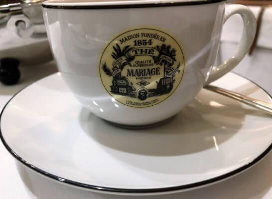 マリアージュフレールのティーカップ