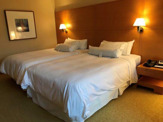 ウェスティン都ホテル京都のベッド