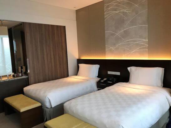 大阪マリオット都ホテルのベッド