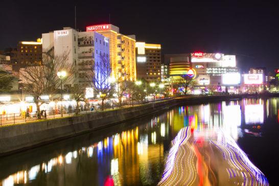 福岡の中洲屋台通り