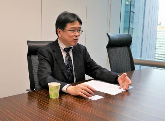 SBI証券 執行役員 投信・債券部長の橋本さん