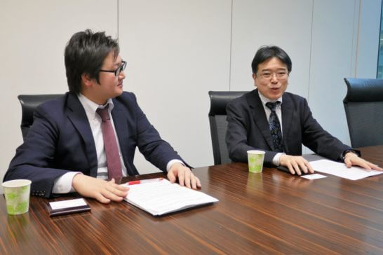 SBI証券の橋本さん、鳴海さん