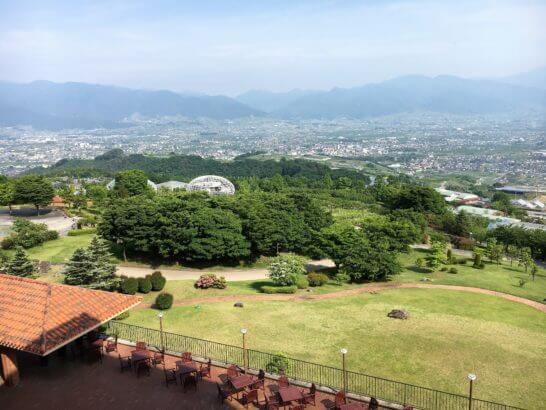 フルーツパーク富士屋ホテルからの眺め