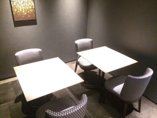 ダイナースクラブ 銀座プレミアムラウンジの会議室