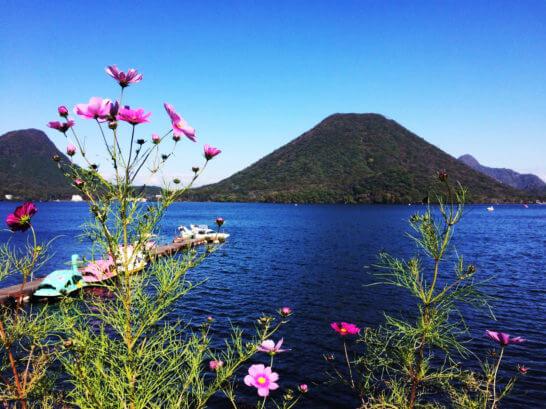 群馬県高崎市の榛名湖