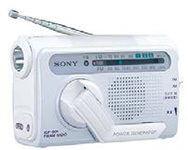 ソニー 手回し充電ラジオ