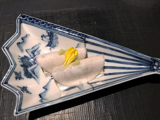 小肌編み笹 坂本菊 もって菊
