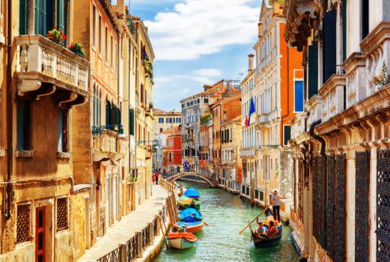 海外の運河