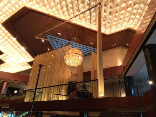 ANAインターコンチネンタルホテル東京のライブコーナー