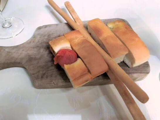 ザ・リッツ・カールトン大阪のスプレンディードのローズマリーのパン
