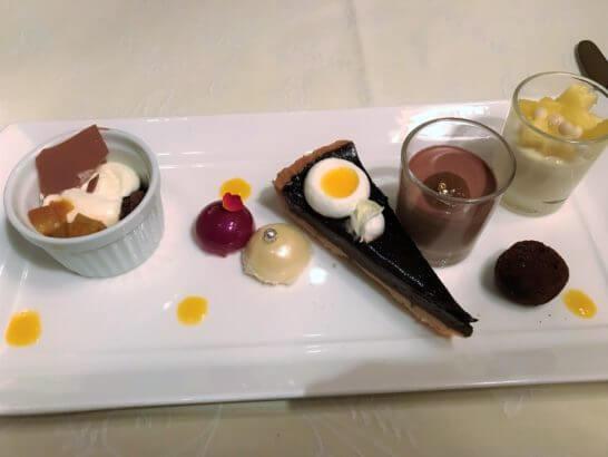 ザ・リッツ・カールトン大阪のスプレンディードのDolce(チョコレートファクトリーデザート)