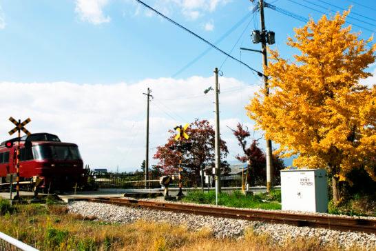 西鉄の線路