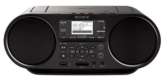 ソニー CDラジオ ZS-RS81BT