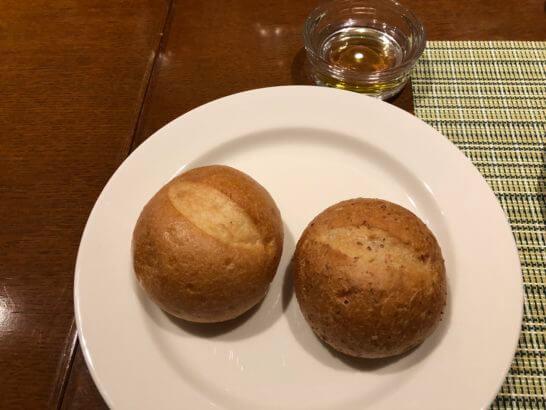 軽井沢マリオットホテルの夕食(パン)