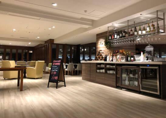 軽井沢マリオットホテルのカクテルタイム