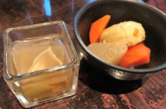 ウェスティンホテル東京の朝食 (煮物)