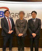 SBI証券 橋本さん、鳴海さん、まつのすけ