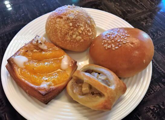 ウェスティンホテル東京の朝食 (パン)