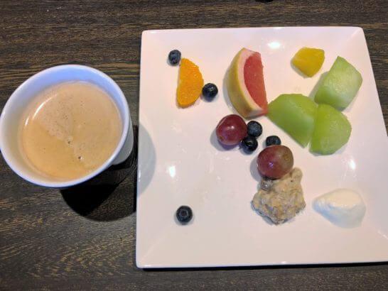 軽井沢マリオットの朝食のフルーツ