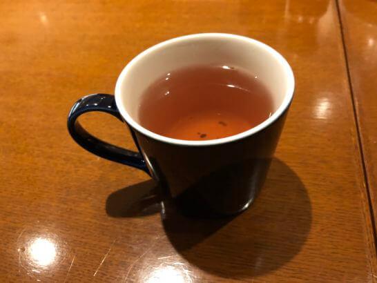 軽井沢マリオットホテルの夕食(ハーブティー)