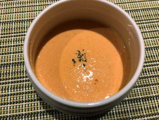 軽井沢マリオットホテルの夕食(スープ)