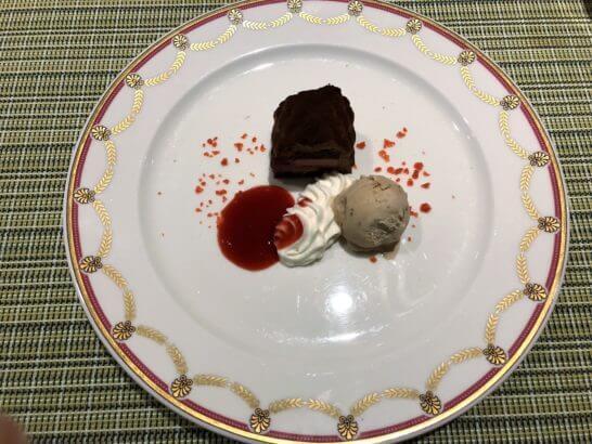 軽井沢マリオットホテルの夕食(スイーツ)