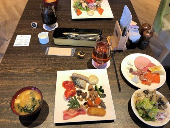 軽井沢マリオットの朝食