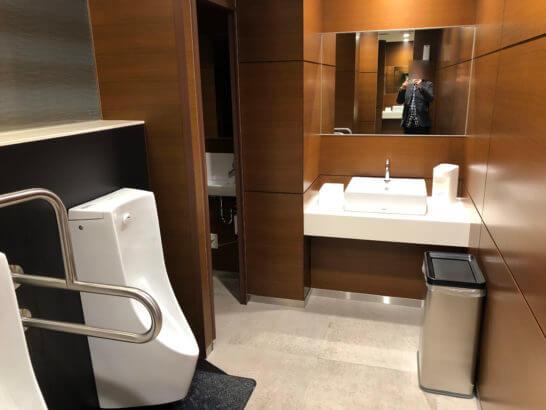 ビューゴールドラウンジのトイレ