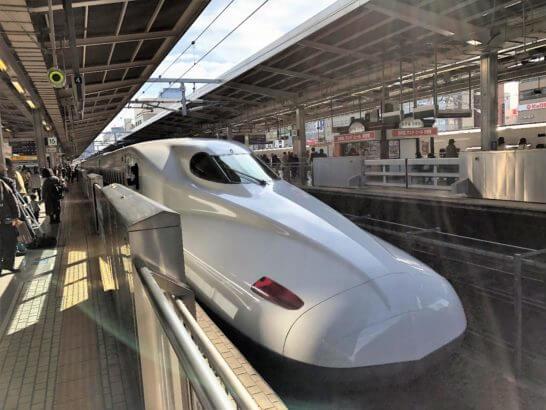 東海道新幹線(京都駅)