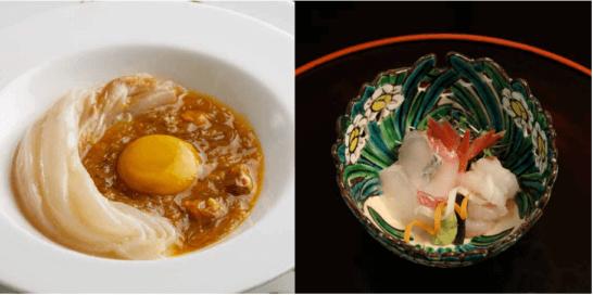 第8回ザ・クラス 名食倶楽部の料理の例